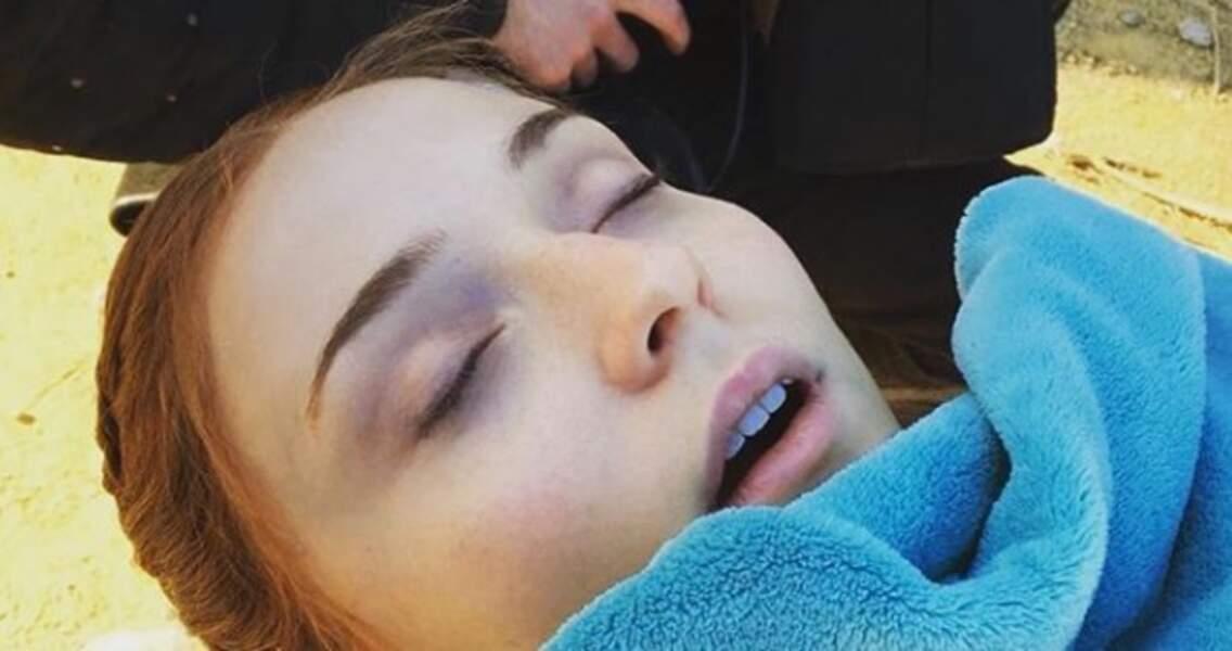 Tourner Game of Thrones, ça épuise... n'est-ce pas Sansa ?