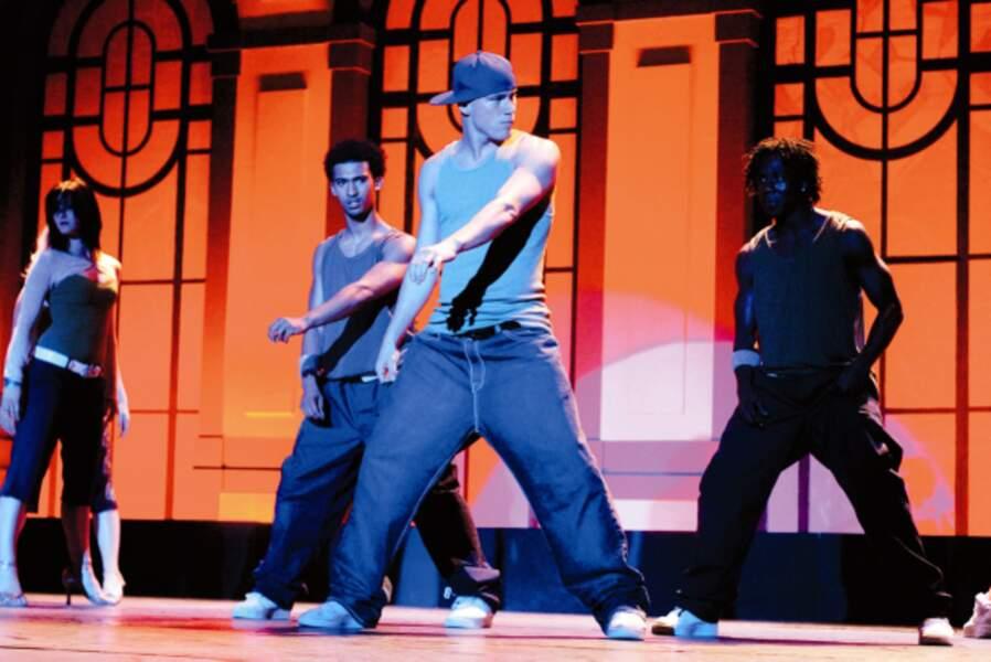 Tatum fait ses premiers pas (de danse) au cinéma en 2006 dans Sexy Dance, un film aux chorégraphies enlevées.