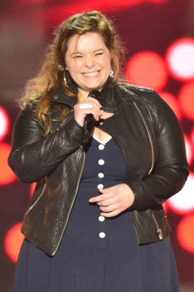 Mariana Tootsie a rejoint la team Pagny grâce à son élégante prestation sur What a Wonderful World