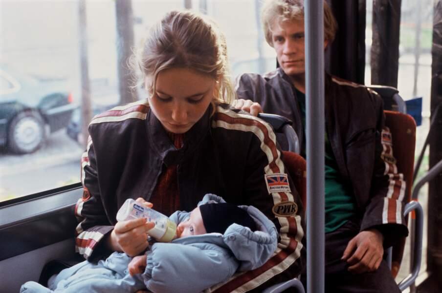 """2004 : premier rôle dramatique dans """"L'Enfant"""" aux côtés de Jérémie Renier"""