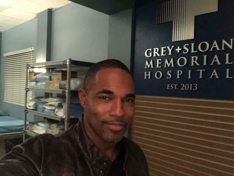 Parti dans Station 19, Jason George (alias Ben) revient faire une visite à Grey's Anatomy