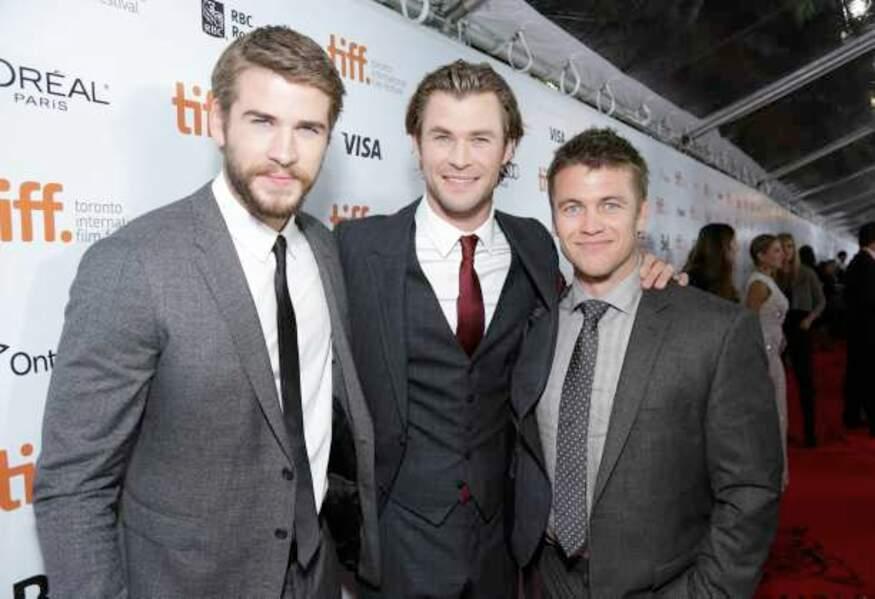 Le trio Hemsworth
