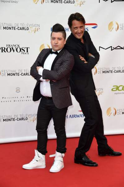 Chris Marques et Vincent Cerutti