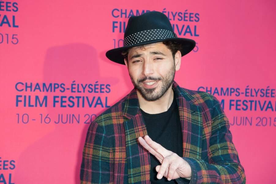 Redouanne Harjane, super loocké sur le red carpet du Champs Elysées Film Festival