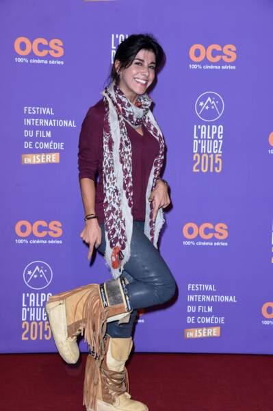 Reem Kherici a sorti les après-ski à la sauce Pocahontas