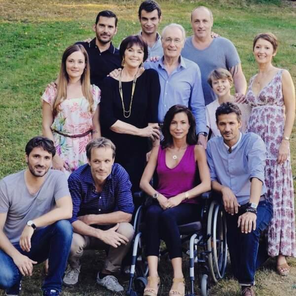 Une photo de famille pour la saison 15 d'Une famille formidable
