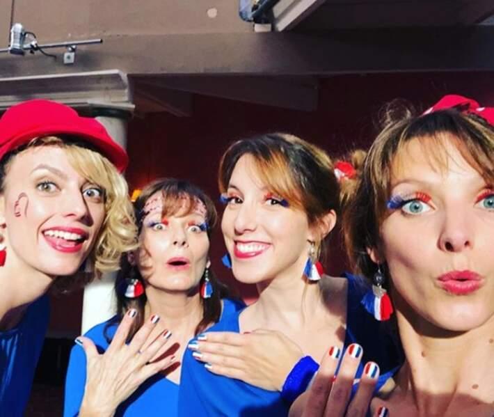 Les filles de PBLV sont à fond derrière les Bleues !