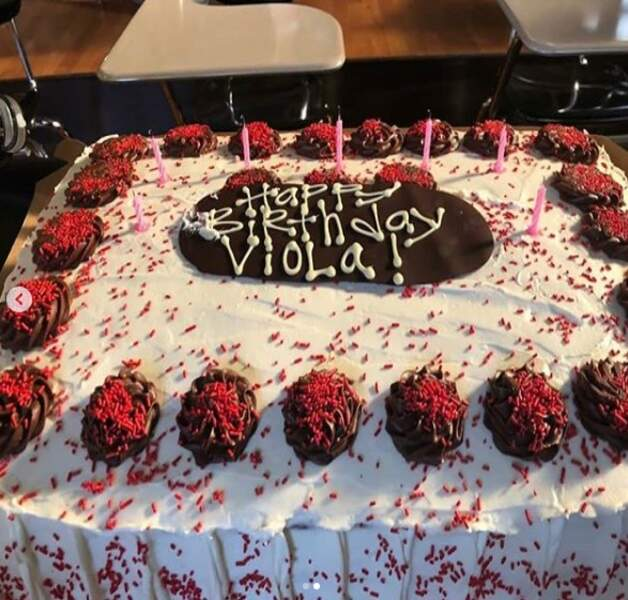 Gâteau à l'appui !