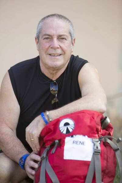 A 68 ans, René a encore toute son énergie