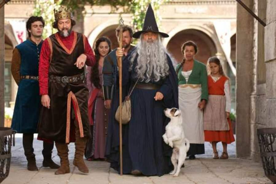 Gérard Jugnot, Wladimir Yordanoff et Arthur Molinier, les héros de Merlin sur TF1