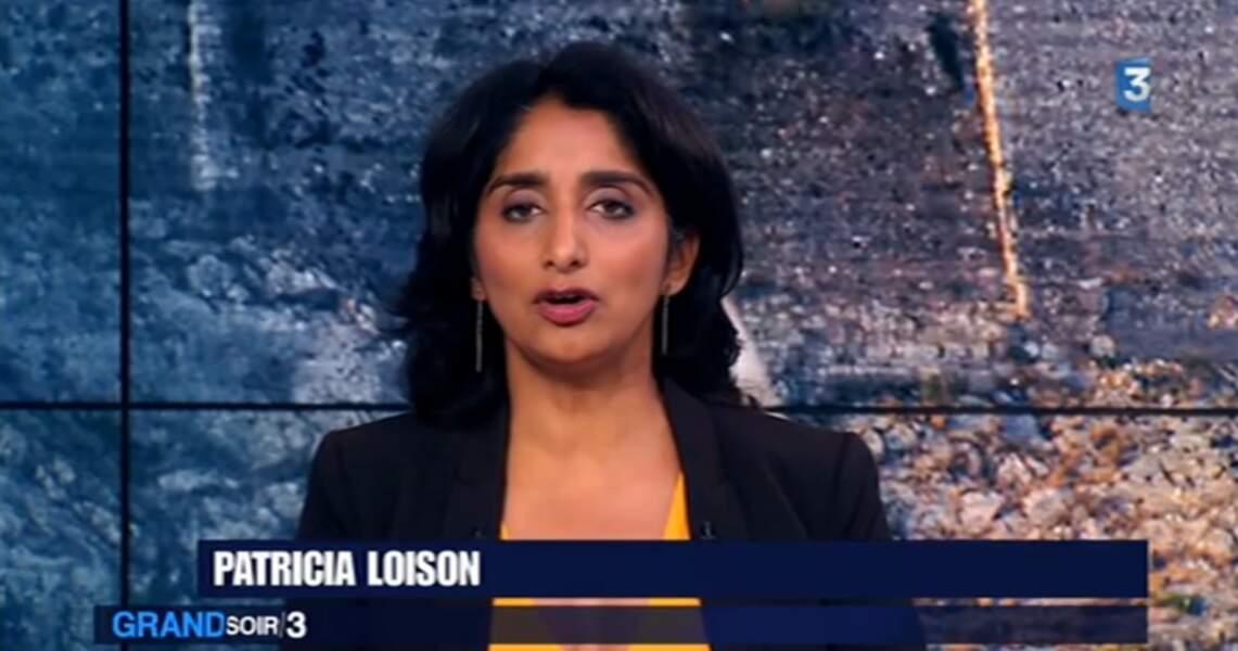 Patricia Loison présente le Soir 3 sur France 3