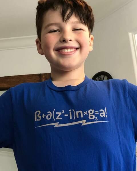 Iain Armitage, le héros de Young Sheldon, est digne du héros qu'il incarne