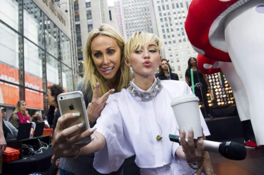 Miley Cyrus peut toujours compter sur le soutien de sa mère Tish.