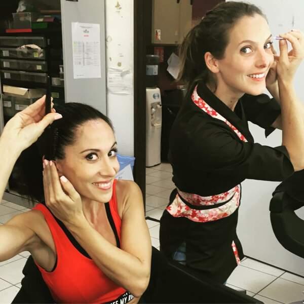 Fabienne Carat et Elodie Varlet, les deux copines de Plus belle la vie