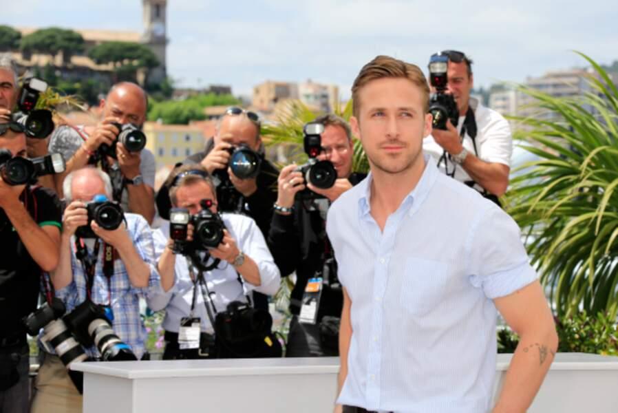 Ryan Gosling, star des photographes