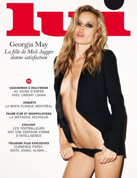 Georgia May Jagger a manifestement hérité des lèvres de son père Mick !