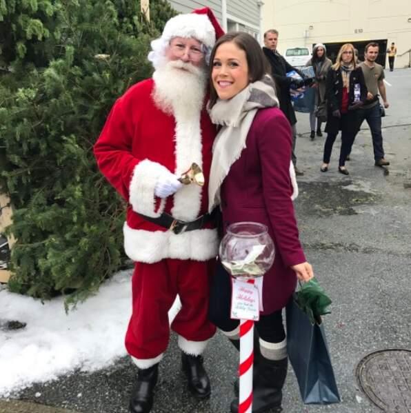 C'est déjà Noël ? Non, mais les téléfilms de Noël ont commencé leurs tournages, avec Erin Krakow...