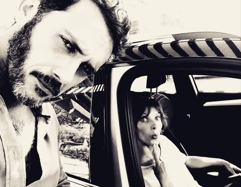 Avec Emanuele Giorgi, elle se la joue Bonnie and Clyde