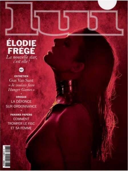 Elodie Frégé seins nus elle aussi !