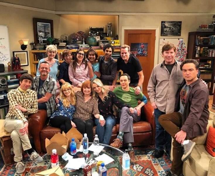 Les acteurs de Big Bang Theory réunis pour la dernière fois avant la fin de la sitcom
