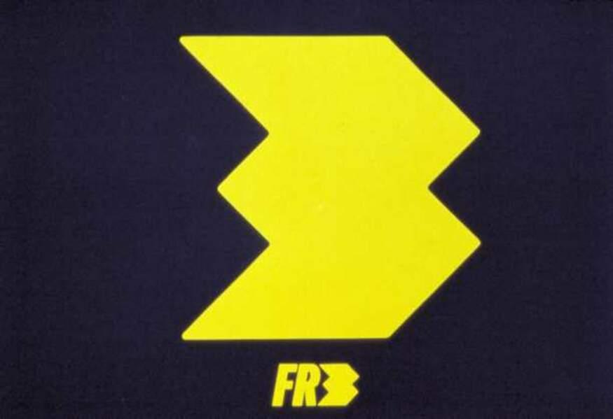 Logo France 3 de 1986 à 1987
