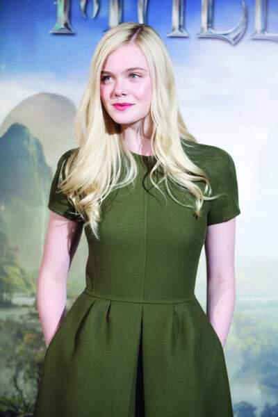 Elle Fanning joue le rôle de la princesse Aurore