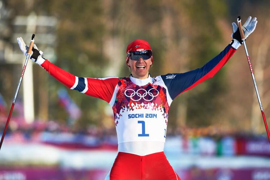 Le Norvégien Ola Vigen Hattestad (ski de fond) remporte le sprint