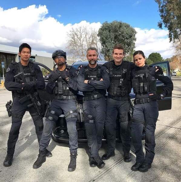Shemar Moore s'éclate en enregistrant la première saison de sa nouvelle série S.W.A.T.