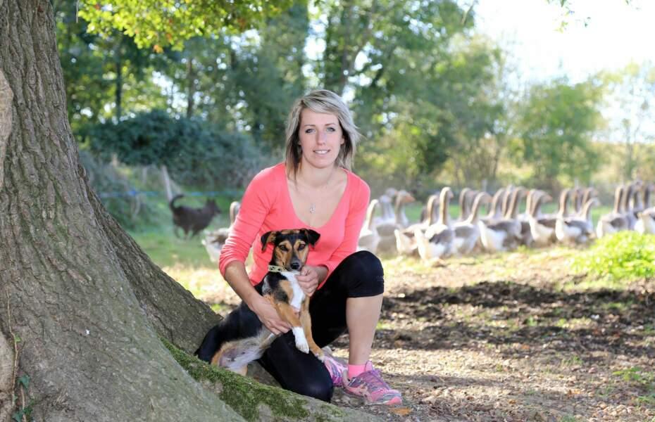 Claire, 24 ans, Midi-Pyrénées, éleveuses de vaches allaitantes, canards et oies