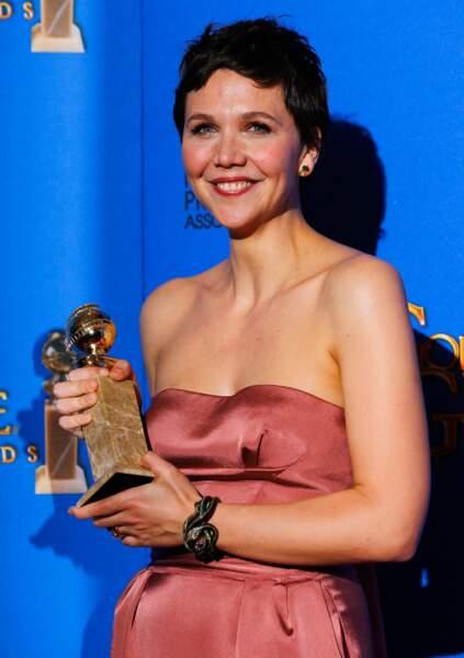 Maggie Gyllenhaal, meilleure actrice dans une mini-série pour The Honorable Woman