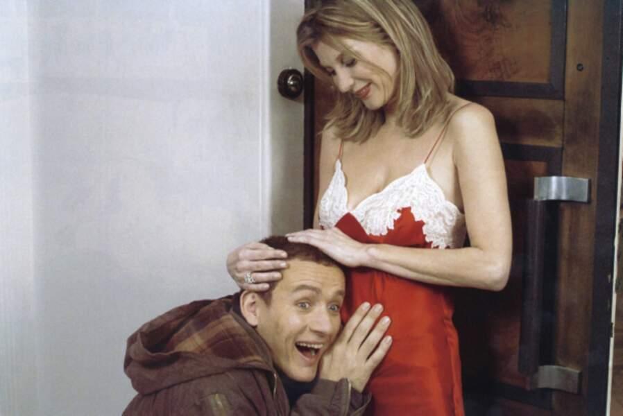 Retour au cinéma en 2004 dans Pédale dure, dans lequel il incarne un patron de boîte de nuit gay