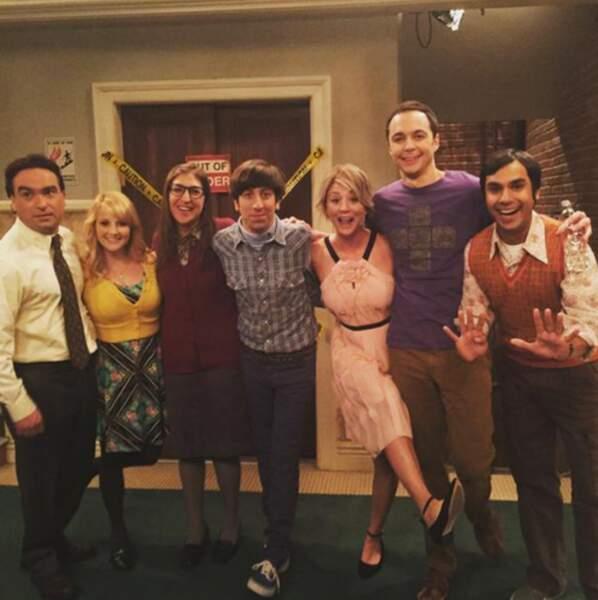 Premier jour de tournage pour la saison 9 de Big Bang Theory