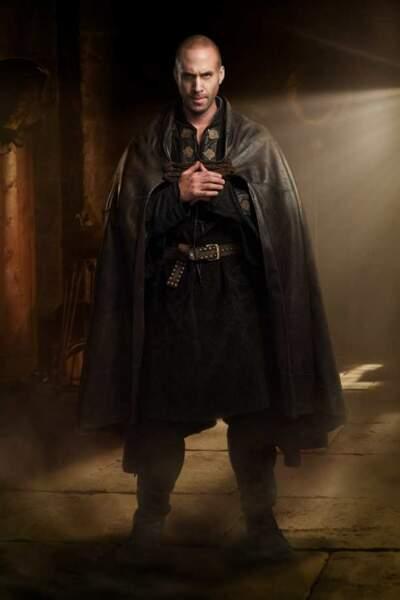 Joseph Fiennes en tenue de chevalier dans Camelot