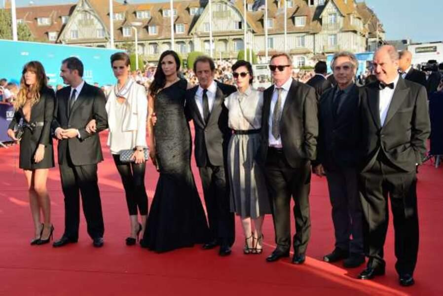 Le jury du Festival de Deauville au complet