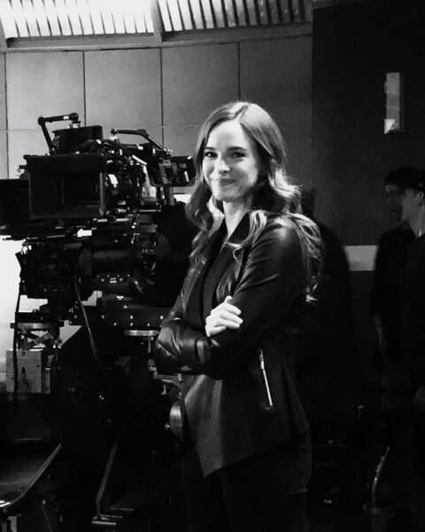 Jolie photo du tournage de Flash