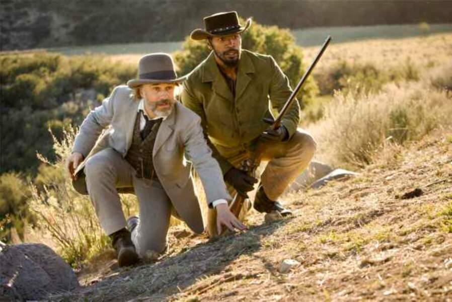 Django Unchained (2013) - Christoph Waltz et Jamie Foxx