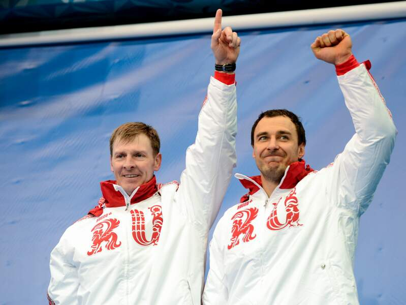 Les Russes Zubkov et Voyevoda remportent l'épreuve du bobsleigh à 2