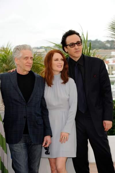 David Cronenberg, Julianne Moore et John Cusack
