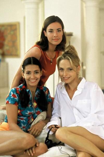 En 1996, elle devient, avec Adeline Blondieau et Bénédicte Delmas, une des héroïnes de Sous le soleil