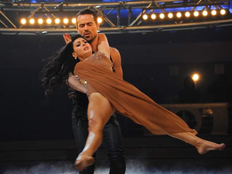 Candice Pascal et Damien Sargue
