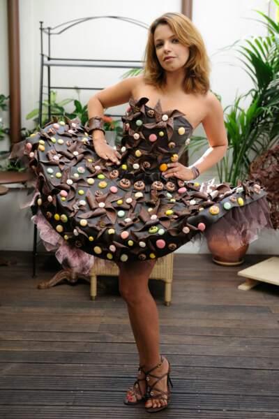 On a craqué pour la robe pin-up de Séverine Ferrer