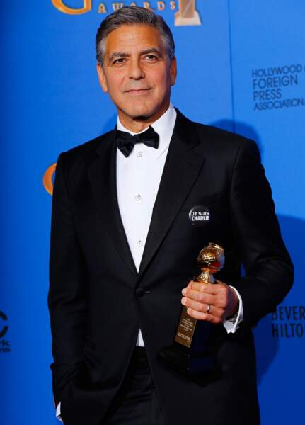 George Clooney a reçu un Golden Globe d'honneur