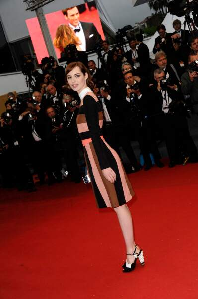 Louise Bourgoin, fan des sixties