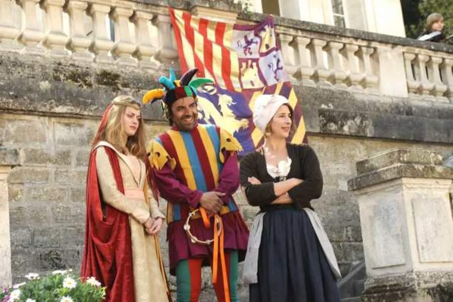 Thierry, le père de Soline, en bouffon (saison 5)
