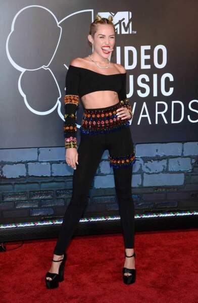 La provocante Miley Cyrus