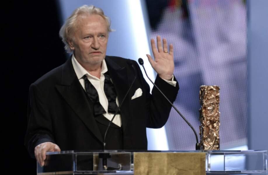 Niels Arestrup, sacré meilleur acteur dans un second rôle pour Quai d'Orsay