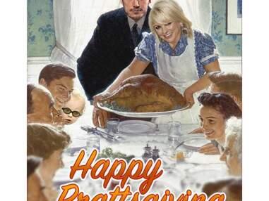 Les stars de séries fêtent Thanksgiving
