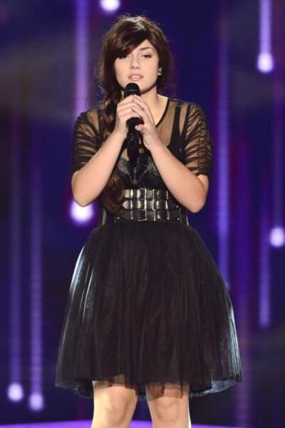 Elvya poignante sur Je suis malade aux auditions s'est imposée face à sa compatriote italienne Giuliana