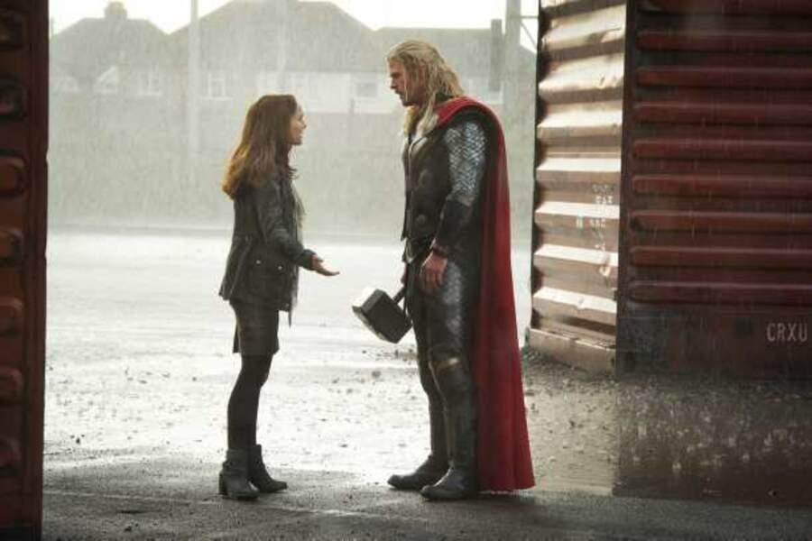 """La voilà encore dans """"Thor"""" en 2013"""