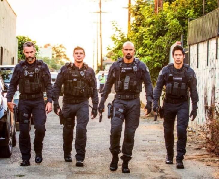 Shemar Moore et ses compagnons tout en testostérone dans SWAT.